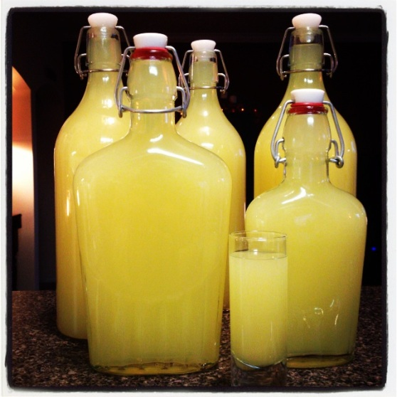 Your Very Own Homemade Limoncello Makes A Great, Unique Gift - A Recipe By Home Style Austin