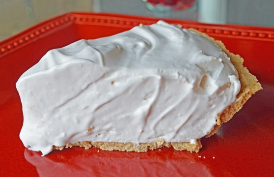 A Pink Lemonade Ice Box Pie Recipe by Home Style Austin