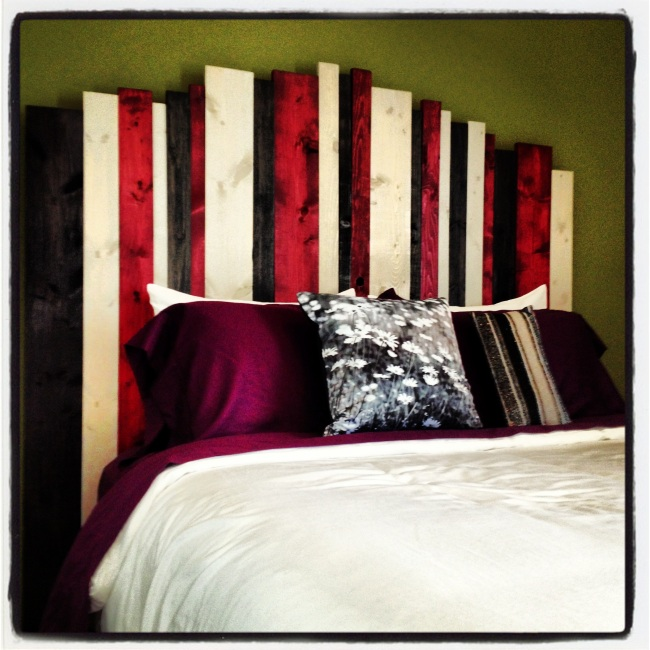 The Finished Piece : DIY Hill Country Headboard by Home Style Austin