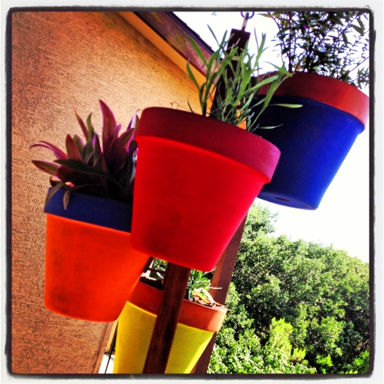 Make your own vertical garden. A DIY Project from Home Style Austin.