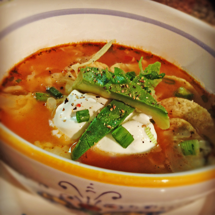 Tortilla Soup by HomeStyleAustin.com