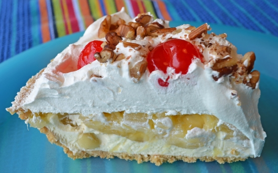 A Banana Split Pie Recipe from Home Style Austin