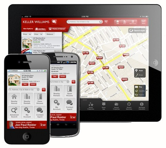 Get The Free Keller Williams Real Estate Mobile App
