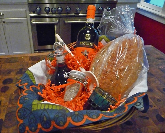 All Prepared ~ An Italian Housewarming Basket