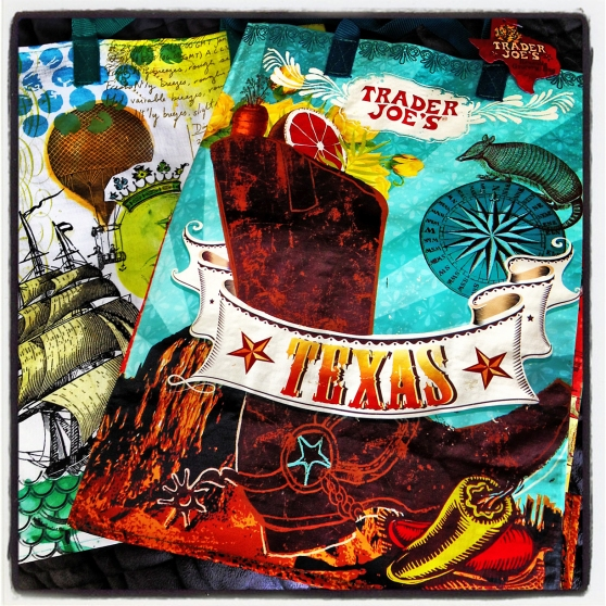 The Texas Themed Trader Joe's Reusable Grocery Bag