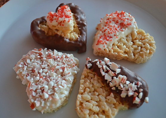 Surprise Your Valentine With These Rice Krispies Treats By Home Style Austin