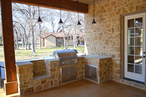 1608 High Lonesome Leander TX 78641 Outdoor Kitchen