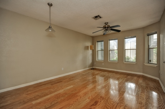 The Living Room At 2104 Cullen Avenue #121 Austin Texas