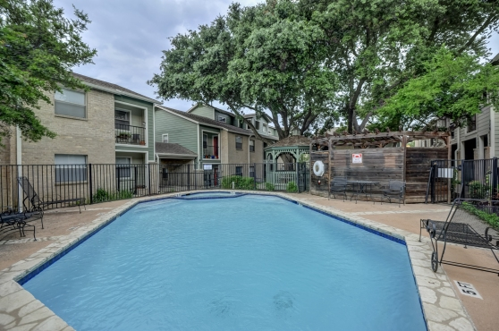 The Pool At 2104 Cullen Avenue Austin Texas