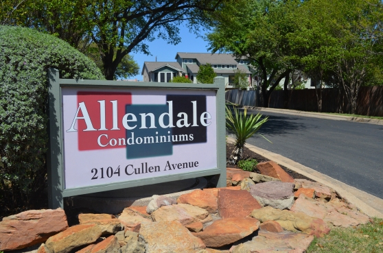 For Sale Soon: Allendale Condominiums, Austin Texas