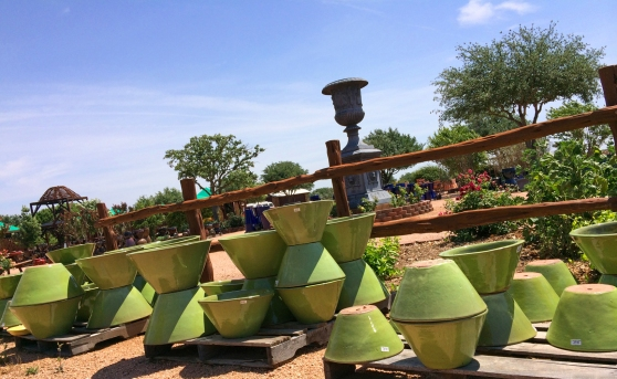 Some Of The Amazing Pots At Wildseed Farms By Home Style Austin