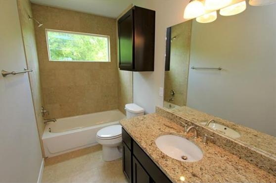 The Secondary Bathroom at 3407 Banton Road #B, Austin, Texas 78722
