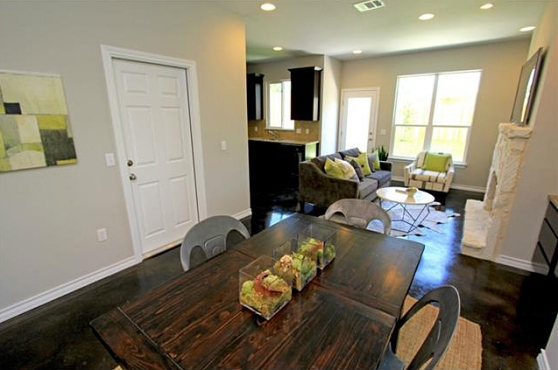 Another View of the Dining Room at 3407 Banton Road #B, Austin, Texas 78722