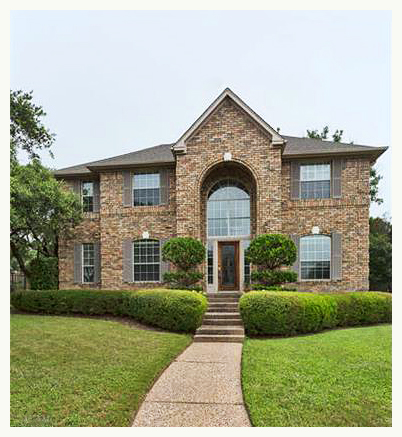 The Front Elevation at 7501 Clematis Cv Austin, TX 78750