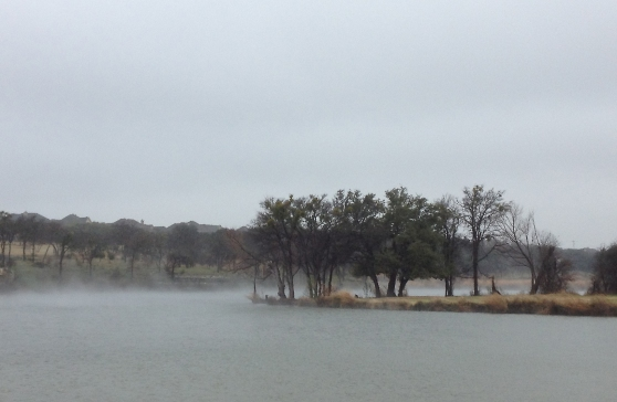 The Fog At Brushy Creek Regional Trail