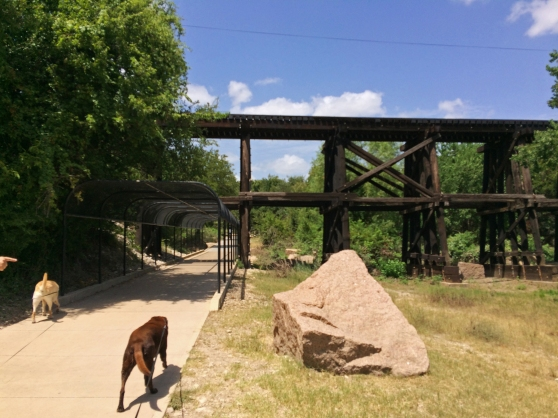 Brushy Creek Regional Trail Granite And The Railroad Line