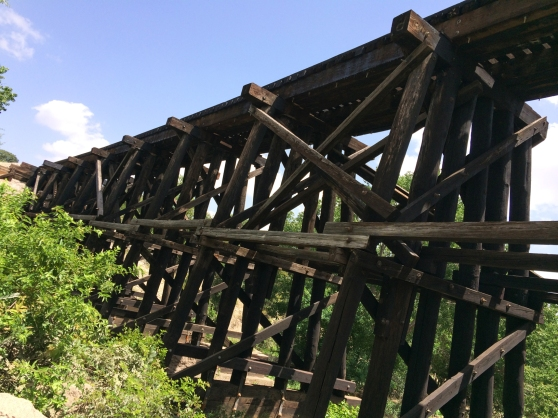 Brushy Creek Regional Trail Train Trestle