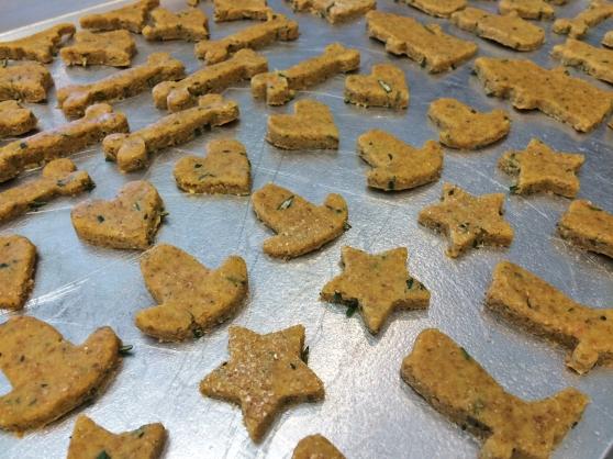 Rosemary Veggie Dog Treats
