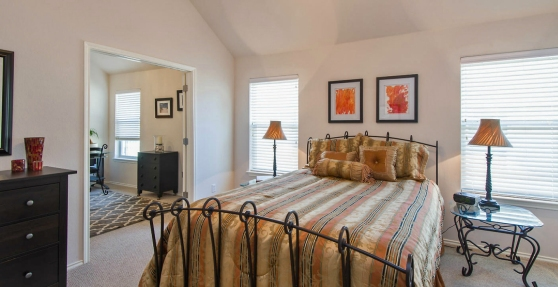 10824 Casitas Austin TX 78717 Master Bedroom View