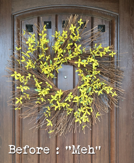 How To Update Your Front Door Wreath