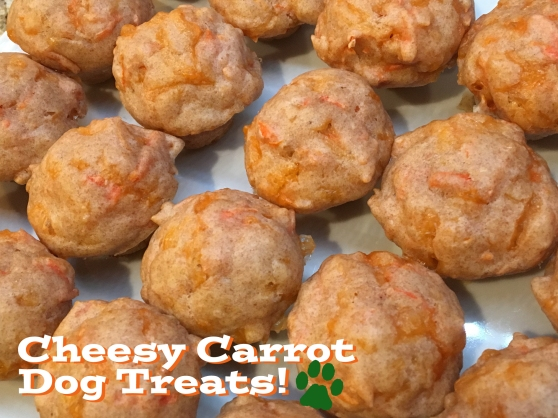 Cheesy Carrot Dog Treats Recipe