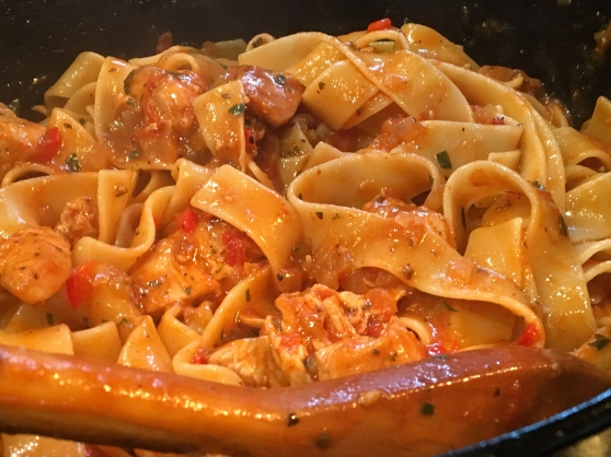 Pappardelle with Chicken Recipe