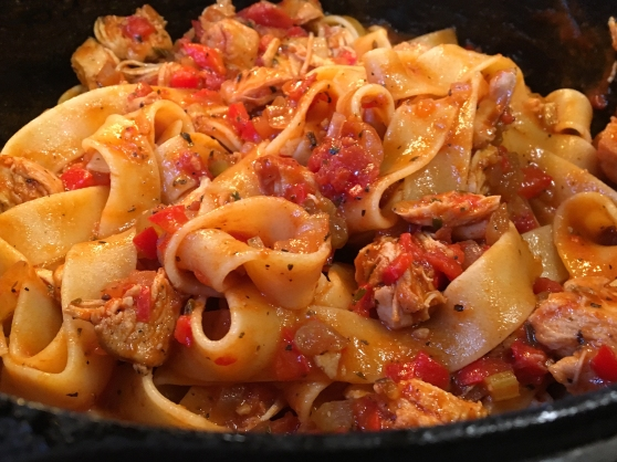How To Make Chicken Pappardelle