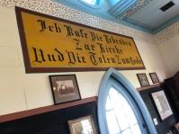 Inside Haw Creek Chapel