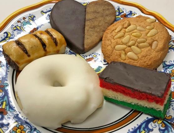 Cedar Park Mandola's Bakery Items