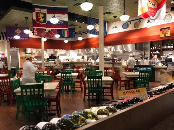 Mandola's Cedar Park Main Dining Room