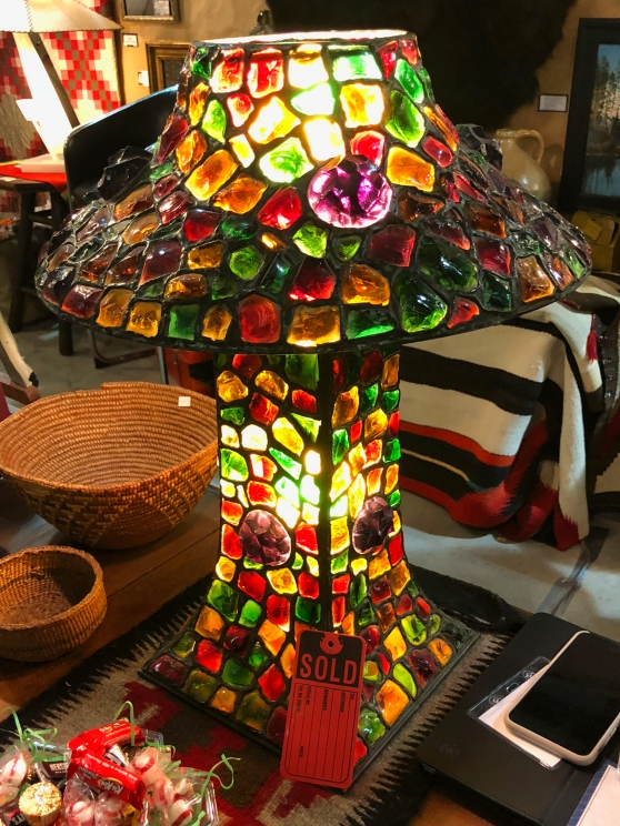 Round Top Stained Glass Lamp