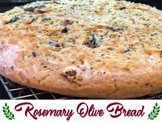 Rosemary Olive Bread Recipe From Home Style Austin