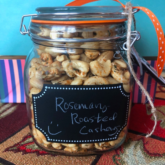 A Rosemary Roasted Cashew Recipe From Home Style Austin