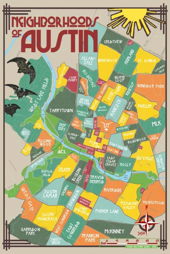 Neighborhoods Of Austin