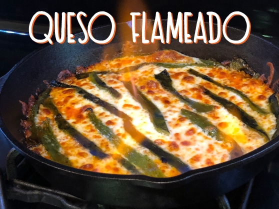 Queso Flameado Recipe