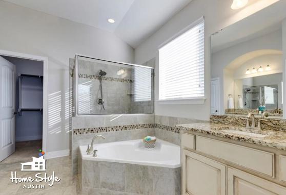 308 Cortona Lane Georgetown TX 78628 Master Bath