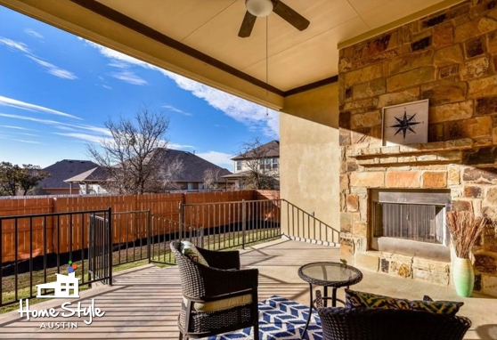 308 Cortona Lane Georgetown TX 78628 Patio